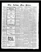 Acton Free Press (Acton, ON), November 29, 1923