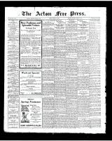 Acton Free Press (Acton, ON), March 27, 1924