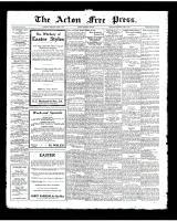 Acton Free Press (Acton, ON), April 3, 1924