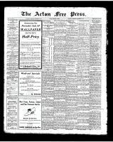 Acton Free Press (Acton, ON), November 6, 1924