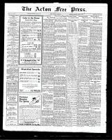 Acton Free Press (Acton, ON)16 Apr 1925