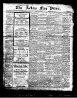 Acton Free Press (Acton, ON), February 3, 1927