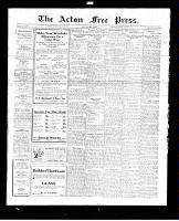Acton Free Press (Acton, ON), August 25, 1927