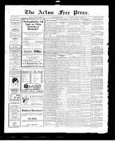 Acton Free Press (Acton, ON), September 1, 1927