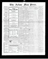 Acton Free Press (Acton, ON), September 8, 1927