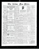 Acton Free Press (Acton, ON), September 15, 1927