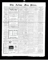 Acton Free Press (Acton, ON), October 6, 1927