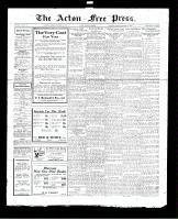 Acton Free Press (Acton, ON), October 13, 1927