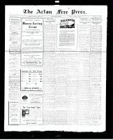 Acton Free Press (Acton, ON), October 27, 1927