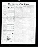 Acton Free Press (Acton, ON), November 17, 1927