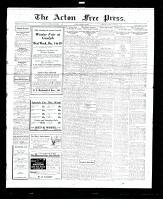 Acton Free Press (Acton, ON), December 1, 1927