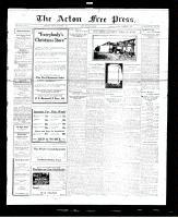 Acton Free Press (Acton, ON), December 8, 1927