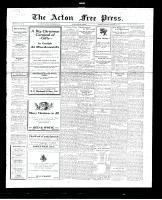 Acton Free Press (Acton, ON), December 22, 1927