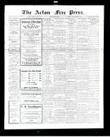Acton Free Press (Acton, ON), January 5, 1928