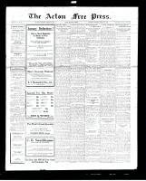 Acton Free Press (Acton, ON), January 12, 1928