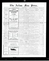 Acton Free Press (Acton, ON), January 19, 1928