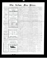 Acton Free Press (Acton, ON), January 26, 1928