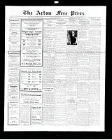 Acton Free Press (Acton, ON), February 2, 1928