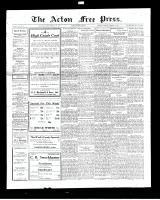 Acton Free Press (Acton, ON), February 16, 1928