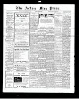 Acton Free Press (Acton, ON), October 25, 1928