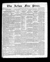 Acton Free Press (Acton, ON), January 14, 1932
