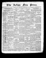 Acton Free Press (Acton, ON), January 21, 1932