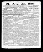 Acton Free Press (Acton, ON), March 3, 1932
