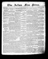 Acton Free Press (Acton, ON), March 10, 1932