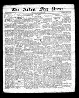 Acton Free Press (Acton, ON), March 24, 1932