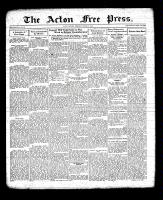 Acton Free Press (Acton, ON), March 31, 1932