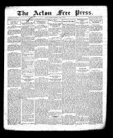 Acton Free Press (Acton, ON), April 21, 1932