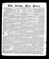 Acton Free Press (Acton, ON), April 28, 1932