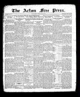Acton Free Press (Acton, ON), July 21, 1932