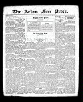 Acton Free Press (Acton, ON), December 29, 1932