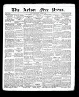 Acton Free Press (Acton, ON), November 1, 1934
