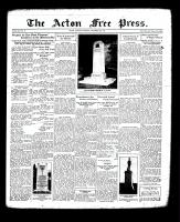 Acton Free Press (Acton, ON), November 8, 1934