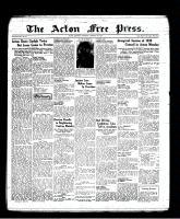 Acton Free Press (Acton, ON), January 6, 1938