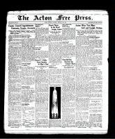 Acton Free Press (Acton, ON), January 27, 1938