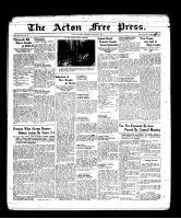 Acton Free Press (Acton, ON), March 3, 1938