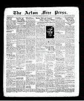 Acton Free Press (Acton, ON), March 17, 1938