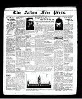 Acton Free Press (Acton, ON), March 31, 1938