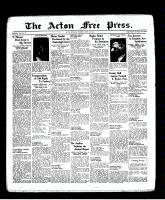 Acton Free Press (Acton, ON), April 7, 1938