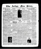 Acton Free Press (Acton, ON), May 26, 1938