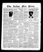 Acton Free Press (Acton, ON), February 9, 1939