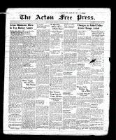 Acton Free Press (Acton, ON), February 16, 1939