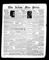 Acton Free Press (Acton, ON), February 23, 1939