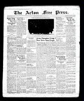 Acton Free Press (Acton, ON), March 2, 1939