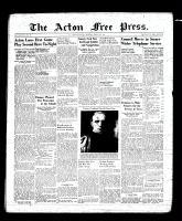 Acton Free Press (Acton, ON), March 9, 1939