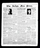 Acton Free Press (Acton, ON), March 16, 1939
