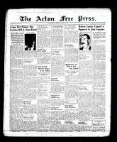 Acton Free Press (Acton, ON), March 23, 1939